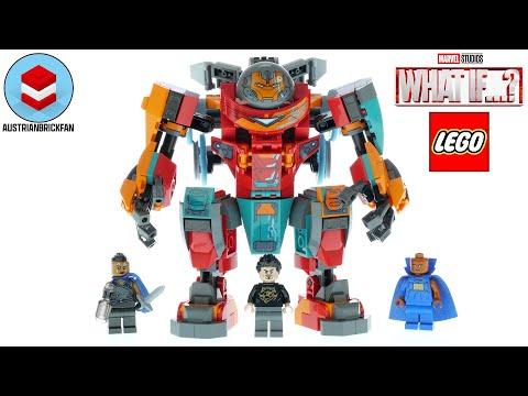 Vidéo LEGO Marvel 76194 : L'armure sakaarienne d'Iron Man de Tony Stark