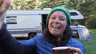 Throwback Thursday in West Virginia & Newbie Boondocking Tip + Mysterious Noises in the Night