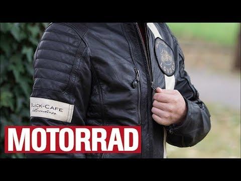 Ausprobiert: Black-Cafe London Paris Motorrad-Lederjacke