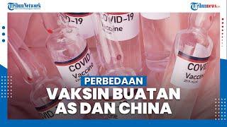 Perbedaan Vaksin Buatan AS dan China