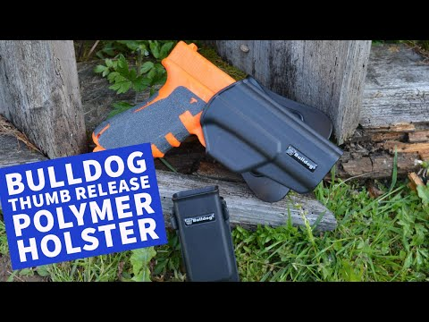 ferkinghoff: Im Test: Bulldog Cases Thumb Release Polymer Holster im Vertrieb von Ferkinghoff International