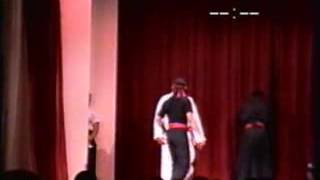 Gm Aaron Banks Oriental World of self defense live Performance by Gm Irving Soto