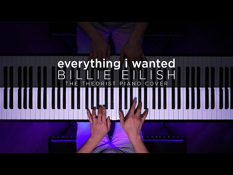Billie Eilish - everything i wanted | The Theorist Piano Cover