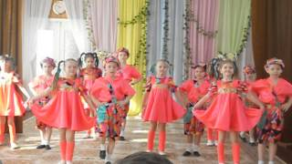 Дети танцуют  танец Шалунишки