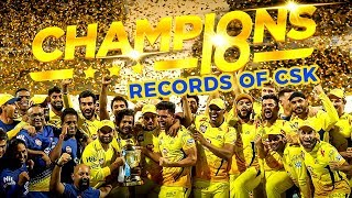 Records That CSK Broke in IPL 2018