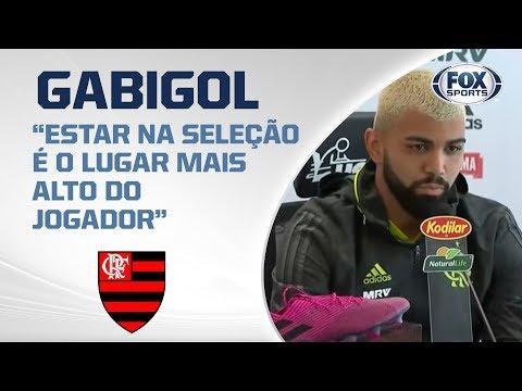 GABIGOL AO VIVO! Atacante projeta duelo entre Flamengo e Cruzeiro; acompanhe a entrevista