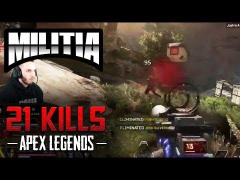 21 KILL GAME! HYPER AGGRESSIVE APEX LEGENDS XBOX ONE X GAMEPLAY