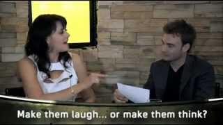 Amanda interviewée par Robin Dunne