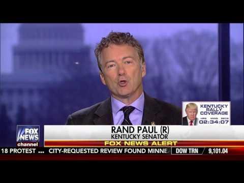 Sen. Rand Paul on Fox News'