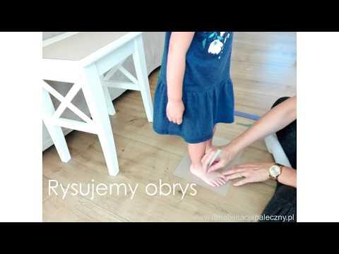 Varus deformacja wideo masaż stóp