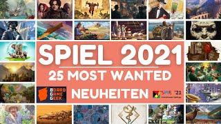 SPIEL 2021: Die Top 25 Most Wanted Brettspiel Neuheiten laut BGG