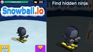 Hidden Ninja Found! Snowball.io