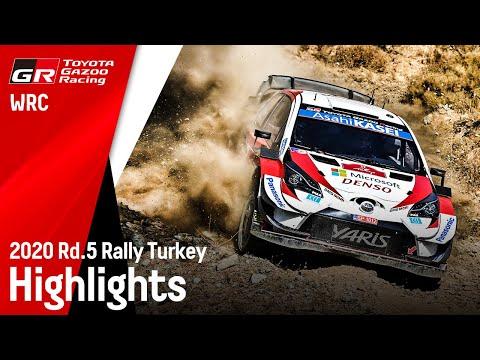 WRC ラリー・ターキー 優勝を果たしたGazooRacingのハイライト動画