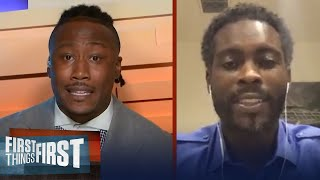 Brandon Marshall and Michael Vick look ahead to Cowboys vs Seahawks   NFL   FIRST THINGS FIRST