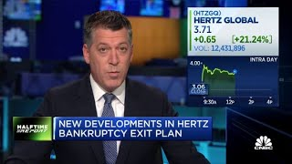 What to know about Hertz's new bankruptcy exit plan