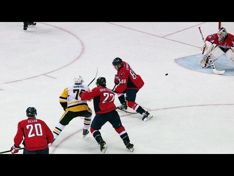 Gotta See It: Hornqvist launches backhander past Holtby for 2-0 lead