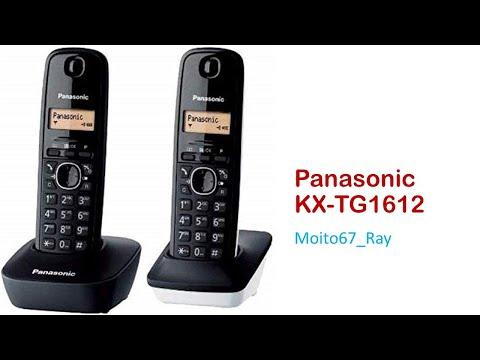 Teléfono Inalámbrico Digital, Panasonic KX-TG1612SP1 DUO