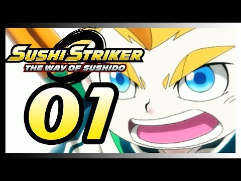Sushi Striker: The Way of Sushido! Nintendo 3DS