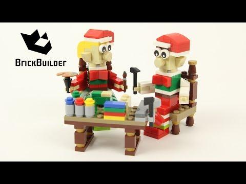 Vidéo LEGO Saisonnier 40205 : Petits lutins de Noël LEGO