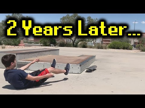 My first time at a skatepark in 2 years