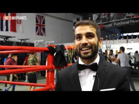 امید رحیمی مشتزن سابق تیم ملی افغانستان در وزن ۵۹ کیلو گرام