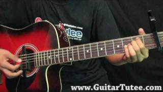 Miley Cyrus Feat John Travolta - I Thought I Lost You, by www.GuitarTutee.com