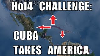 Hearts of Iron 4 Challenge: Cuba Takes America