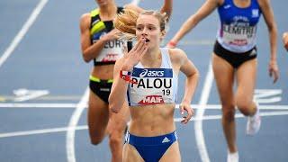 Miramas 2021 : Finale 1500 m F (Claire Palou en 4'12''62, RF Espoirs)