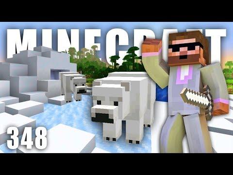 IGLÚ A VÝBĚH PRO MEDVĚDY | Minecraft Let's Play #348