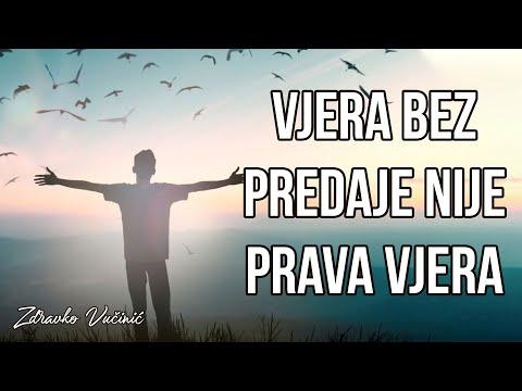 Zdravko Vučinić: Vjera bez predaje nije prava vjera