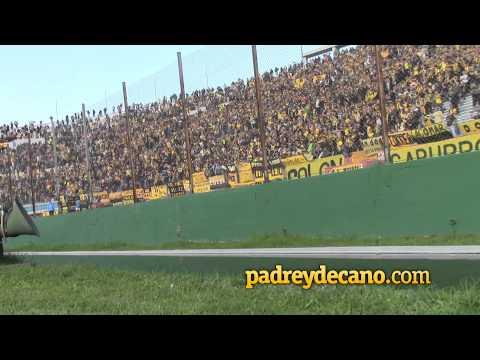 """""""Hinchada festeja el gol de Píriz"""" Barra: Barra Amsterdam • Club: Peñarol"""