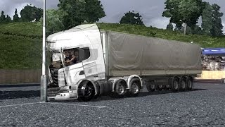PhysX - Lock Your SeatBelt - Crash Test - ETS2 - Euro Truck Simulator 2 - Движок PhysX в  ЕТС 2