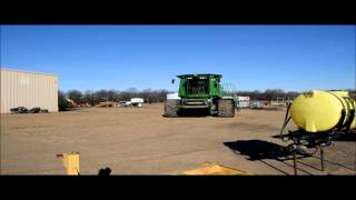 2010 John Deere 9870 STS RWA combine for sale | sold at auction March 25, 2015