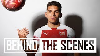 Lucas Torreira's first day at Arsenal | Exclusive behind the scenes - dooclip.me