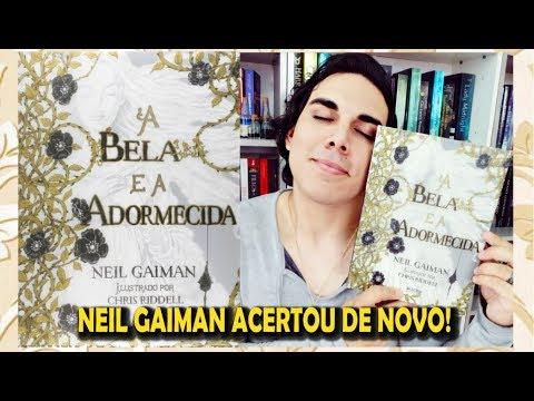 """Resenha """"A BELA E A ADORMECIDA""""   Neil Gaiman   Editora Rocco"""