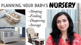 Planning your baby's Nursery - The Essentials