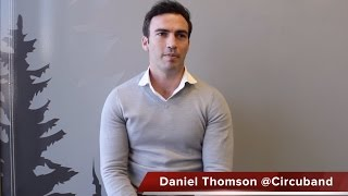 Daniel Thomson cofounder of Circuband talks about his experience using Alibabacom