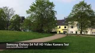 Samsung Galaxy S4 Full HD Video Kamera Test