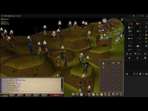 Runescape OSRS F2P PKing 43lvl Range/Melee (12 KO) - смотреть онлайн