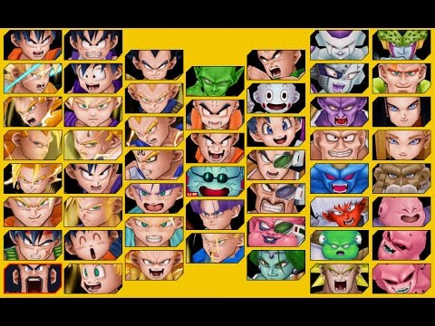 Dragon Ball Kai Ultimate Butouden - All Characters