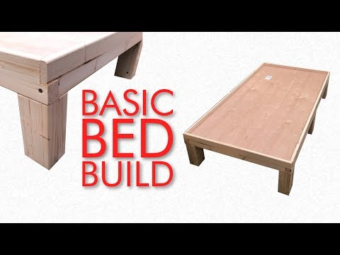 Build A Basic Kid's Bed Frame You Can Easily Customise