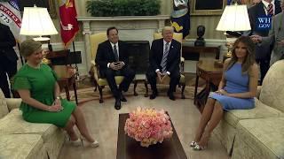 President Trump Meets with President Varela