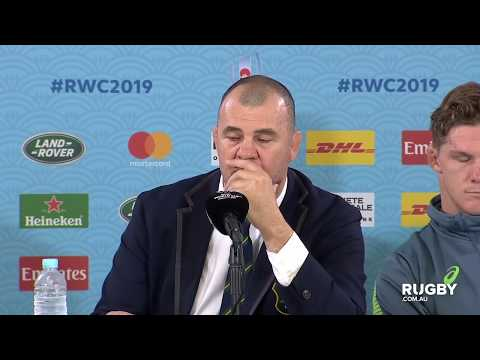 Rugby World Cup 2019: Australia vs England, Wallabies press conference