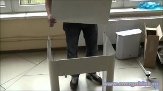 Рукомойник с бочком и раковиной из нержавеющей стали видео