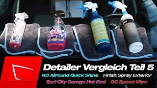 Koch Chemie Allround Quick Shine Detailer Surf City Garage Hot Rod, Chemical Guys Speed Wipe Test