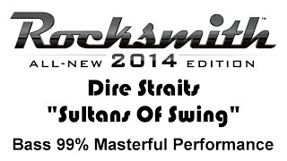 "Dire Straits ""Sultans Of Swing"" Rocksmith 2014 Bass 99 Finger"
