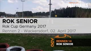 Rennen 2 der Rok Senioren beim Saisonauftakt