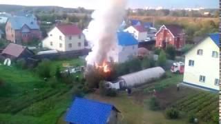 Пожар на улице Журвского, Сыктывкар