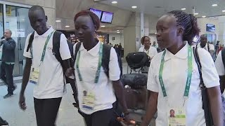 Refugees making Olympic history