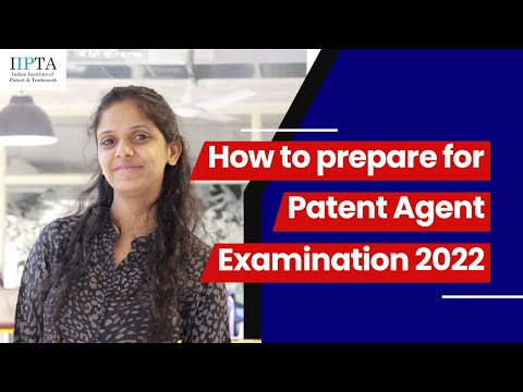 How to Prepare for Patent Agent Examination 2020 - YouTube